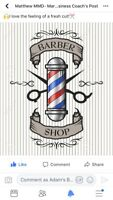 Haircut and hot shave for men