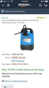 Submersible dewatering pump NEW