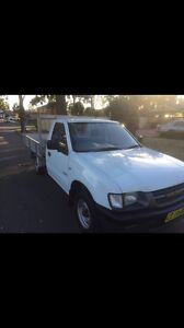 White Holden rodeo ute 2001 manual Katoomba Blue Mountains Preview