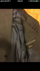 Sharkskin Blue Kenneth Cole Suit Jacket!