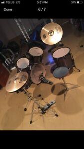 Premier Cabria drum set
