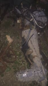 1994 302 ford engine , trans , transfer case