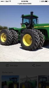 Looking for a set of tires and rims to fit JD9300