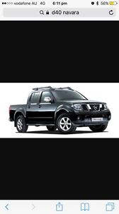 d40 navara wrecking brisbane Redcliffe Redcliffe Area Preview