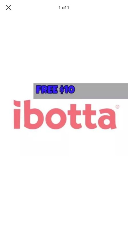 Free $10 From iBotta - FREE CODE BELOW - Save money on everyday purchases
