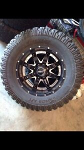 "20"" BMF rims with 37 inch tires"