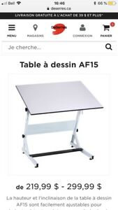 Table à dessin gros format