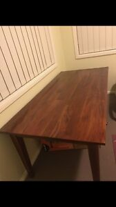 Wooden Dining Table Muswellbrook Muswellbrook Area Preview