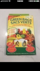 Kitchen Green Bags