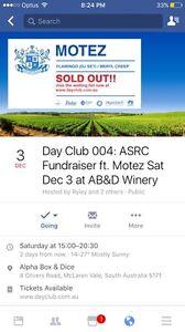 Day Club feat. Motez Dec 3 2016 Parkside Unley Area Preview