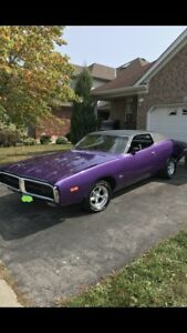 1972 Dodge Charger SE Brougham (certified)
