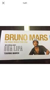 PREMIUM BRUNO MARS TICKET FOR HIS 24K MAGIC WORLD TOUR 2018 ON Ivanhoe Banyule Area Preview