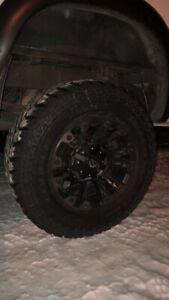 Fuel rims and cooper tires
