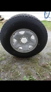 Used Winter Truck Tires and Rims