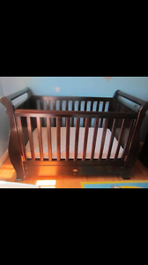 Boori country sleigh cot & change table Pimpama Gold Coast North Preview