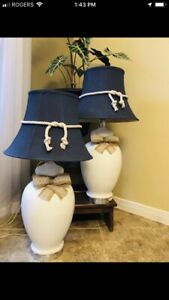 "31"" porcelain lamps"