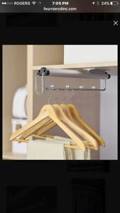 4 pull out closet rods