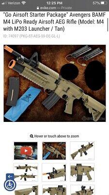 Avengers Go Airsoft Starter Package Airsoft Gun Starter Package