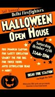 Delhi Firefighter Assoc Halloween Open House/Pumpkin Carve