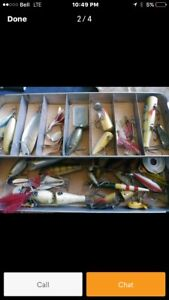 $$$paid for old fishing lures