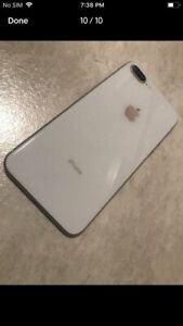 Unlocked iPhone 8Plus 256Gb Mint Condition