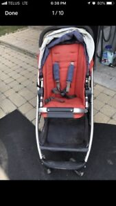 Uppababy Cruz with extras