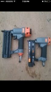Brand new hdx air nailers
