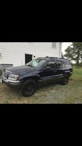 04 Jeep Grand Cherokee Columbia edition