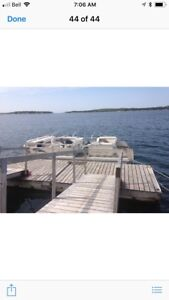 Pontoon boat SOLD PPU
