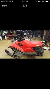 1989 Yamaha Snoscoot 120 Snow Scoot Enfield