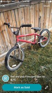 Free agent youth bmx bike