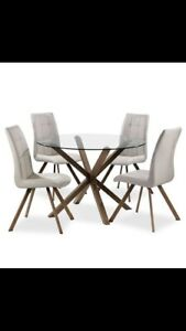 Dining table set (4 seater)