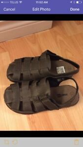 Never worn, Boys size 3 sandals
