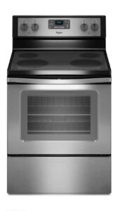 Four/poêle/cuisinière/stove/oven stainless Whirlpool