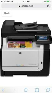 Hp CM 1415 FNW all in one wireless laser color printer