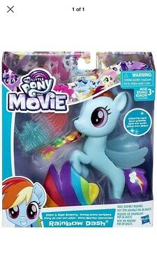 Rainbow Dash Movie (MY LITTLE PONY 'The Movie' Rainbow Dash Glitter and Style Sea Pony)