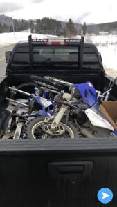 Looking for blown up dirt bike
