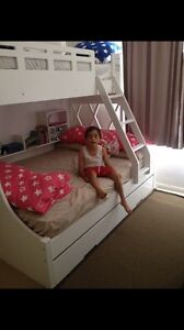 Double bunk bed with trundle for sale Revesby Bankstown Area Preview