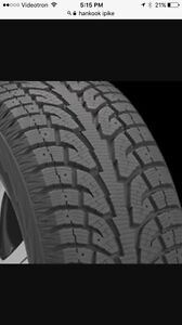Hankook I*Pike 275/55R20 4 winter tires
