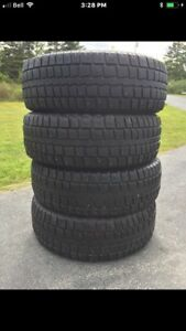 245/70/17 STUDDED SNOW TIRES ( COOPER )