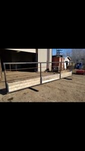 Free standing panels and ranch supplies