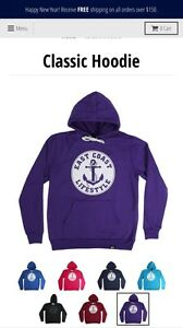 Authentic Youth ECL sweater in purple. Gently used