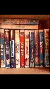 Box of Disney VHS Movies