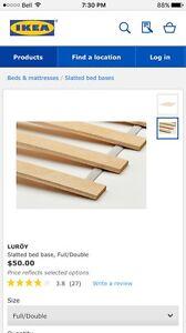 Bed slats from IKEA