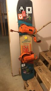 Arbor westmark 154MW snowboard only