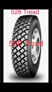 LongMarch Semi Tires Drives Trailer Steers and More