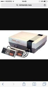 Nintendo nes with 3 classic games