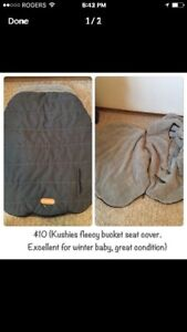 Baby seat cover