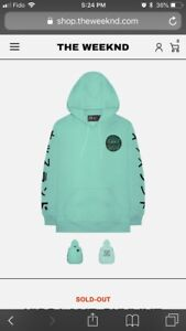 THE WEEKND KISS LAND SKYLINE PULLOVER HOODIE