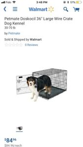 Dog crate/ cage a chien